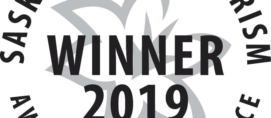 SASKATCHEWAN TOURISM 2019 AWARDS OF EXCELLENCE FINALIST; FRED HEAL TOURISM AMBASSADOR CATEGORY