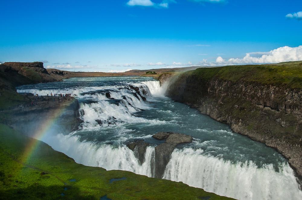 Gullfoss cascata del Golden Circle Islanda