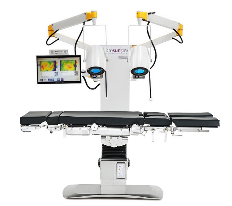 System medyczny Hydrosun TWH1500 do hipertermii powierzchniowej, hipertermia, aparatura medyczna