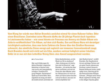Interview in Jazzthetik