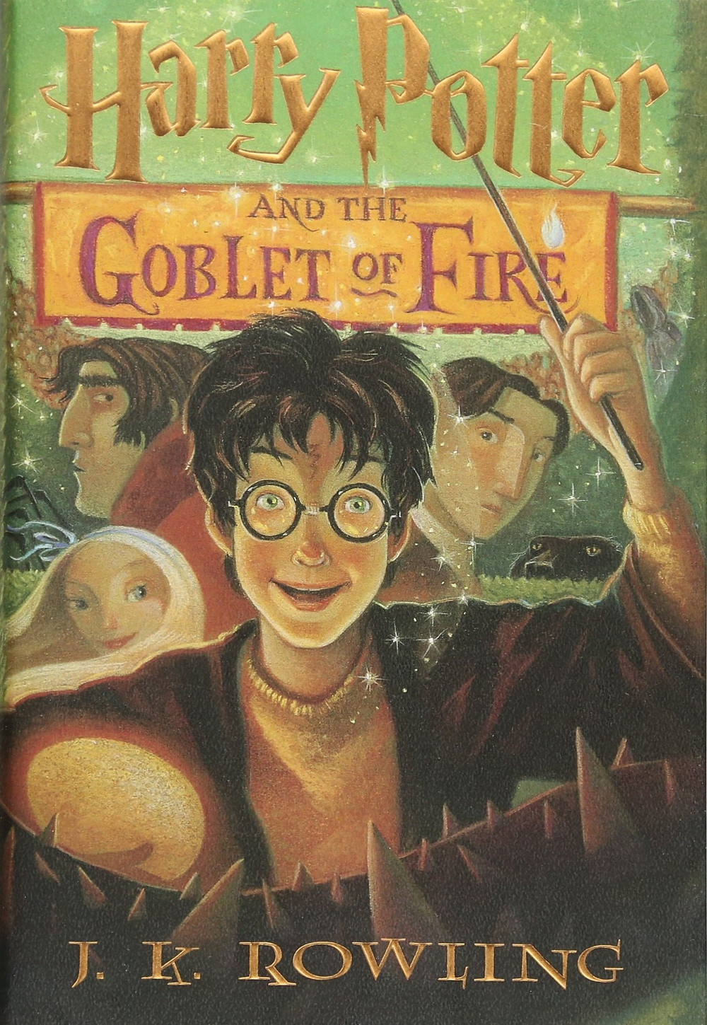 Harry Potter and the Goblet of Fire by J.K. Rowling : the book slut book reviews thebookslut