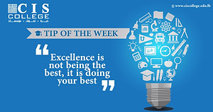 Check out the tip of the week