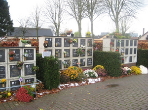 Columbarium op begraafplaats HMMG.