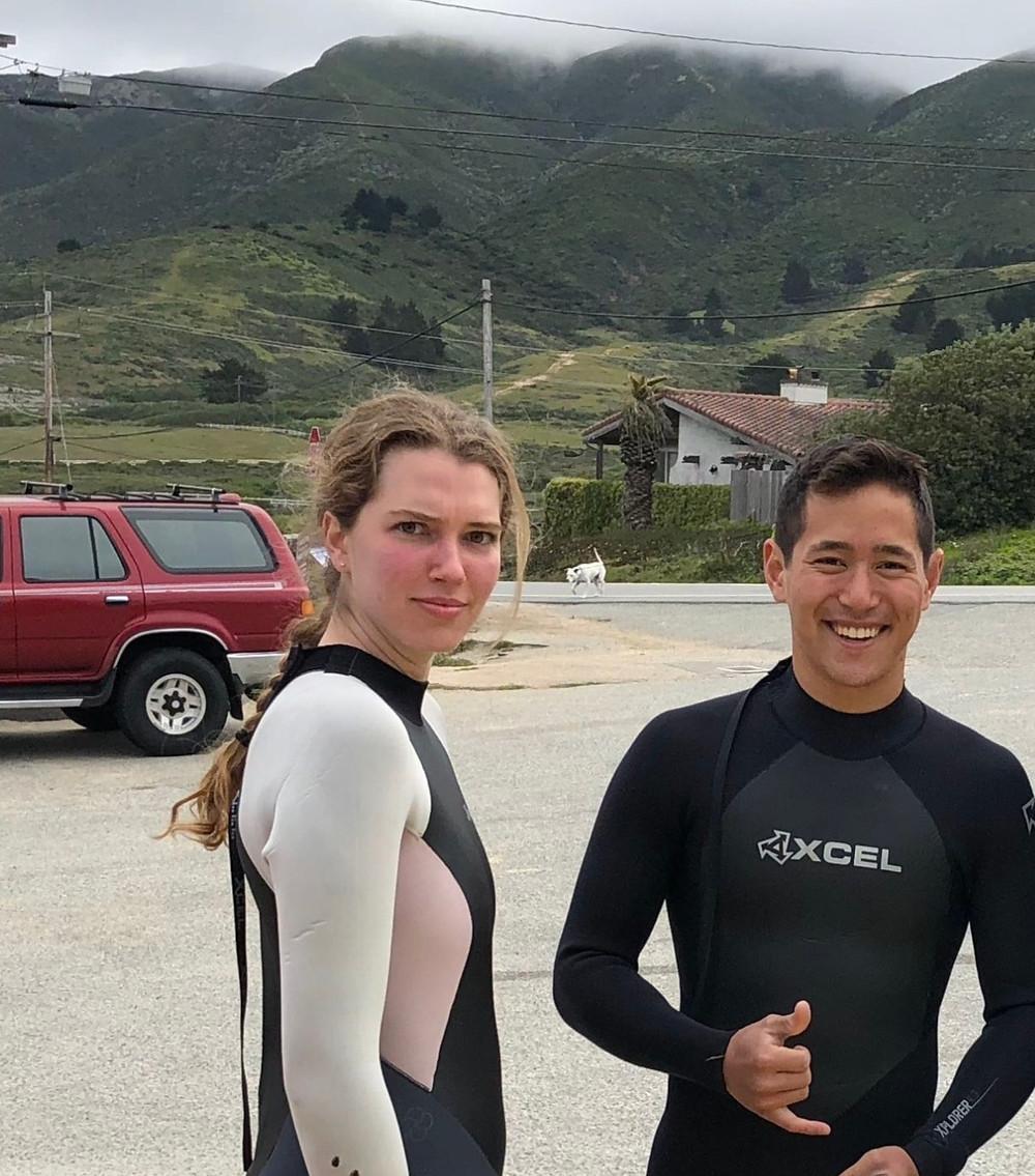 sasha and alex surf