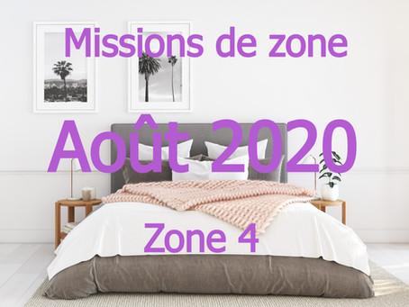 Zones : Missions semaine 35 - Zone 4