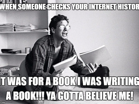 It was for a book!