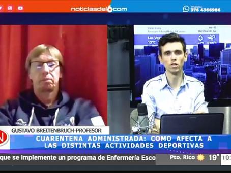 Entrevista Online Canal 6 Misiones