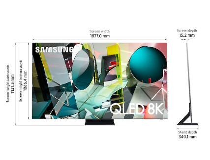 Samsung's QLED 8K and 4K Tv's