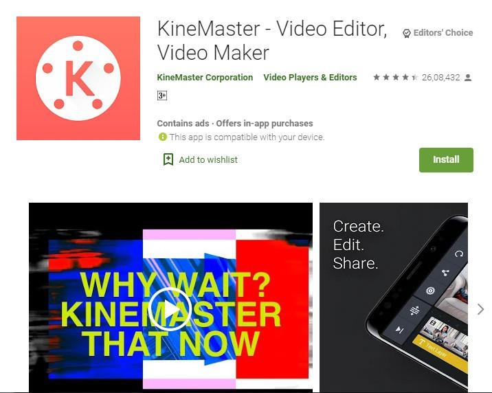KineMaster Video Editing App