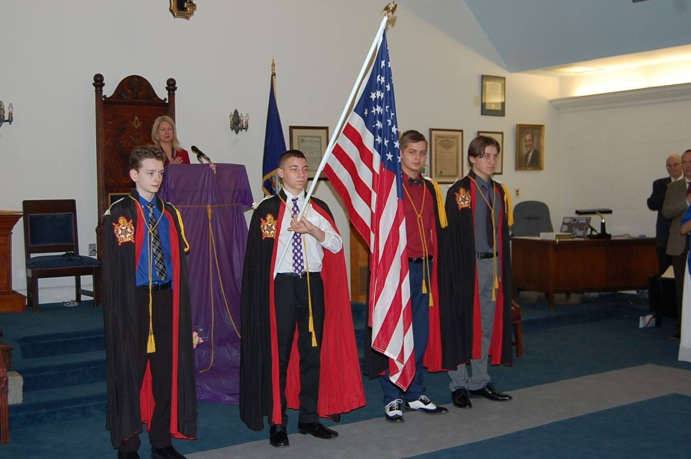 Prince William Chapter at Manassas Assembly Installation