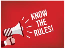 Alcune regole...