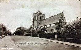 1863: The ceremony of laying the St Wilfrid Church foundation stone