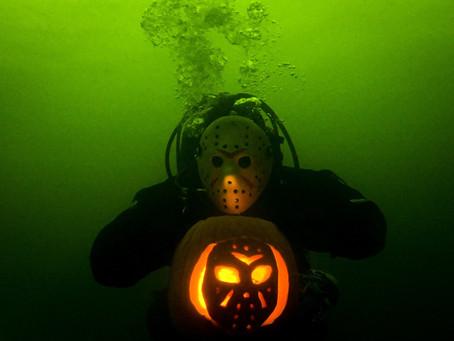 Halloween Pumpkin Carving with Scuba Club