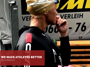 Mental training for faster swimming!
