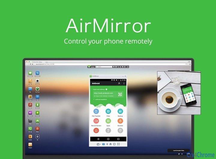 AirDroid tiene una nueva aplicación con la que puedes controlar a distancia un móvil Android desde otro Android. AirMirror, una app muy útil