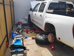 החלפת מצוף דלק תקול, שברולט קולורדו, זהירות עם הסיגריה!