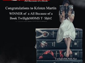 TwilightMOMs All Because of a Book T-Shirt Contest Winner!