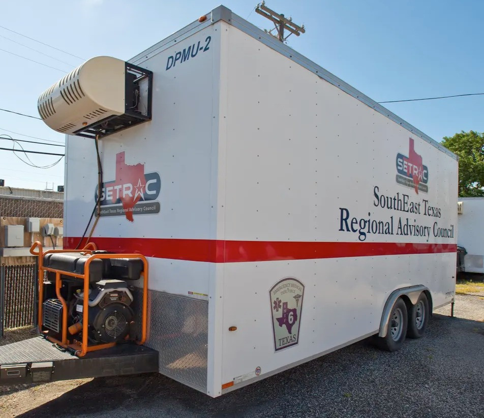 Corpus Christi, TX rents refrigerated truck to store dead bodies as county morgue hits 100% capacity.