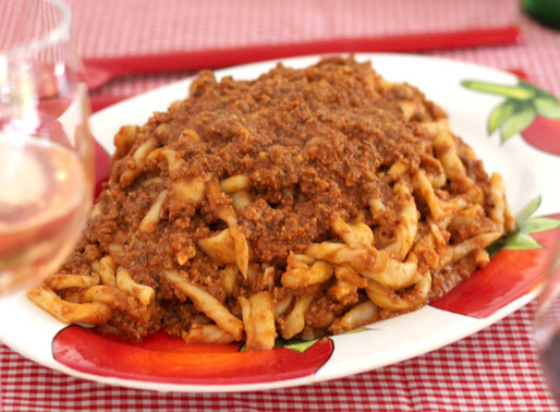 RECIPE: WALNUT RAGU
