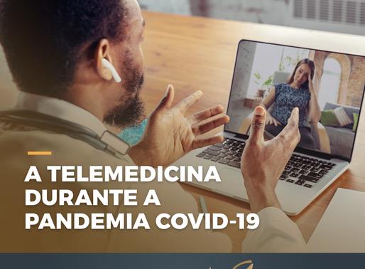 A TELE MEDICINA DURANTE A PANDEMIA COVID-19 (NOVO CORONAVÍRUS)