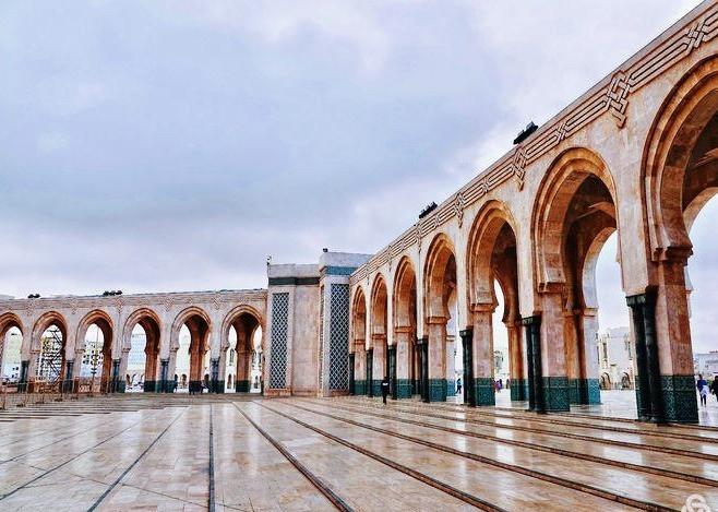 Morocco Casablanca Hassan II Mosque