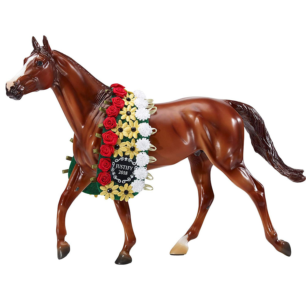 Justify, 2018 Triple Crown winner, Breyer Horse Model