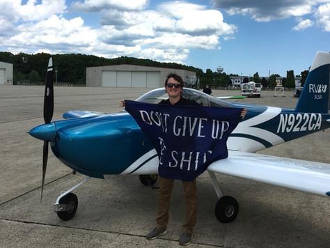 Checkride PASSED! - Private Pilot Joe P.