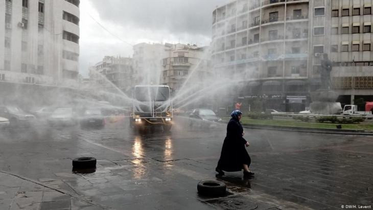 للنظام السوري مفاهيمه الخاصة للتعقيم أيضًا