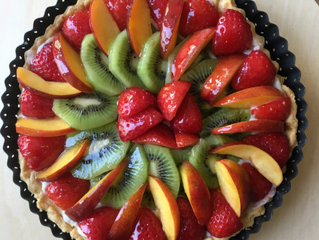 Classic French Fruit Tart Recipe