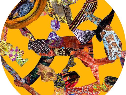 AFROMATS Exhibit 'Art on a Slip' at ASC Art House Croydon Open Studios