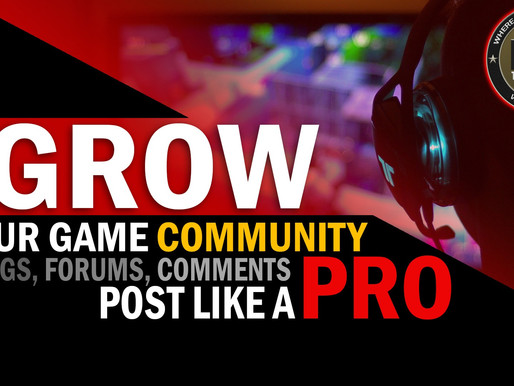 Grow Your Gaming Community with Blogs, Forums, and Comments