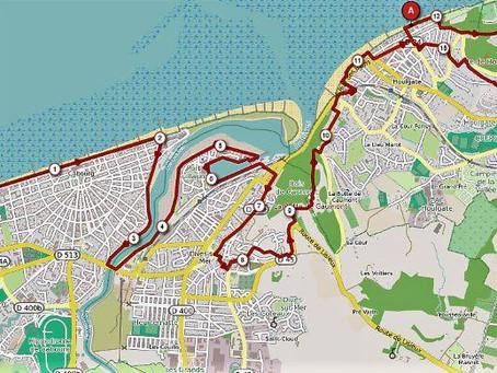 Parcours du Trail des 100 marches 2019 - 15 km