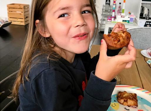 Recept: appel-kaneel muffins als ontbijt!