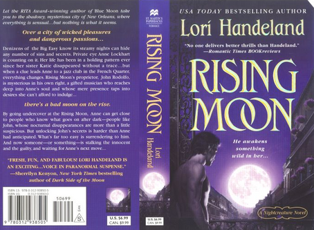 Rising Moon Paranormal Romance by Rita Winner Lori Handeland