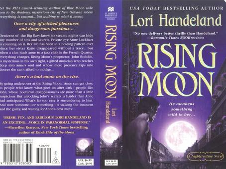 Rising Moon Paranormal Romance by Rita Winner Lori Handeland