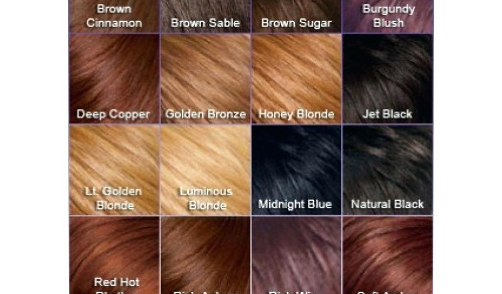Different hair shades