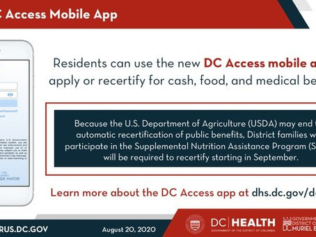 DC Access for SNAP Benefits