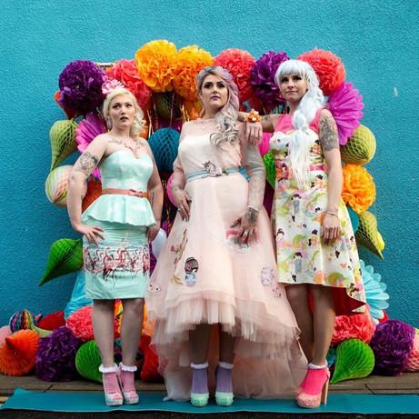 Colour pop girls
