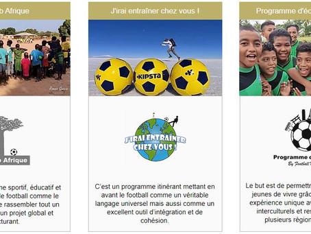 Les programmes développés par Football Mission