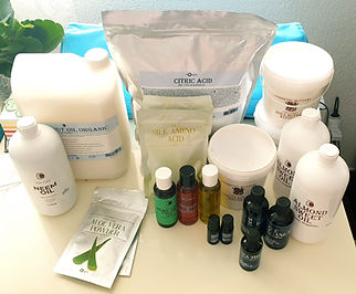 Mystic Moments organic cosmetical ingredients.