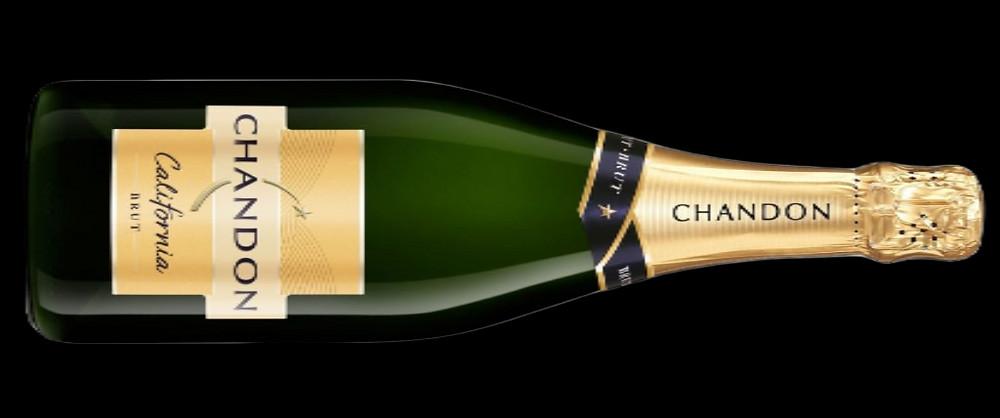 Bottle of Chandon Brut