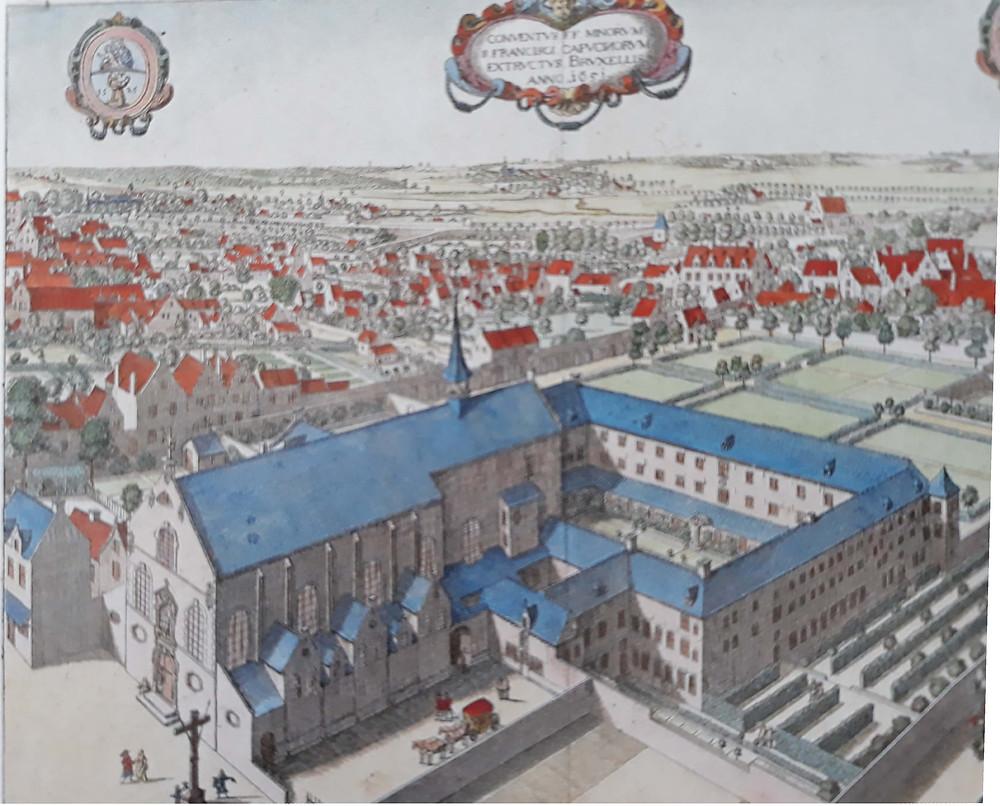 Bruxelles, couvent des capucins, visite guidée Bruxelles, Vincent Beckers