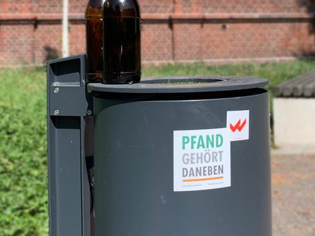 """Gemeinnützige Aktion """"Pfand gehört daneben"""" schaltet erfolgreiche Kampagne bei Welect"""