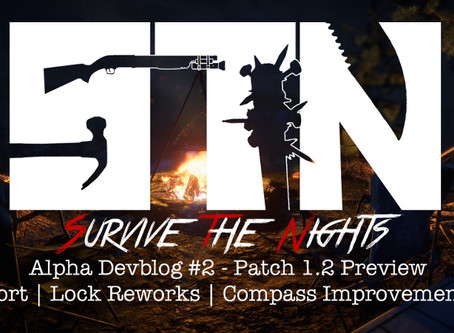 Alpha Devblog #2 - Patch 1.2 Preview (Airport | Lock Reworks | Compass Improvements ++)