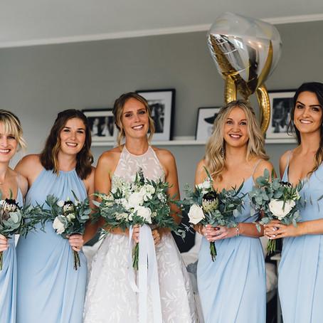 Deine unvergessliche bridal party!