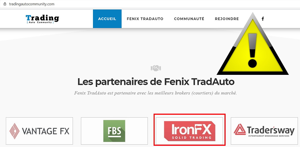 Brokers sur Chypre Fenix Trad Auto