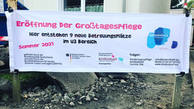 Eröffnung der Großtagespflege Bärenhöhle