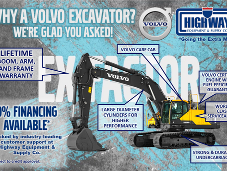 Our Customers Really Dig Volvo Excavators