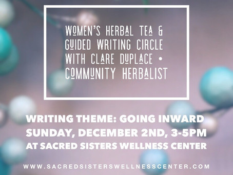 Women's Herbal Tea and Guided Writing Circle