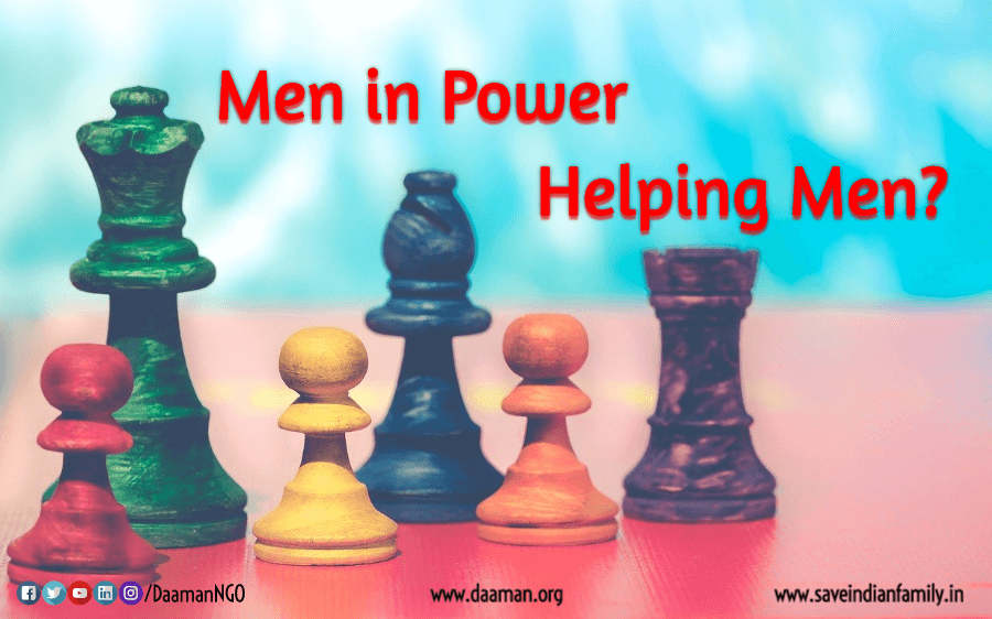 Colours of Men in Power